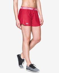 Under Armour Play Up Shorts Knock Out White