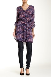 Melrose And Market Waist Tie Tunic Pink