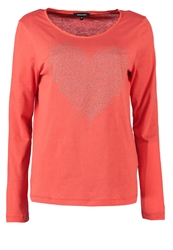 More And More Long Sleeved Top Red