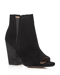 Splendid Kendyll Open Toe High Heel Booties Black