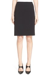 Women's Armani Collezioni Featherweight Wool Pencil Skirt