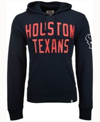 47 Brand '47 Men's Houston Texans Crosscheck Hoodie Navy