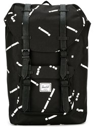 Herschel Supply Co. Double Straps Fastening Backpack Black