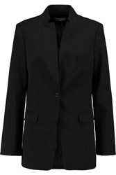 Michael Kors Collection Stretch Wool Twill Blazer Black