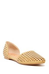Restricted Get Away D'orsay Flat Beige