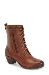 Women's Pikolinos 'Rotterdam' Lace Up Boot Cuero