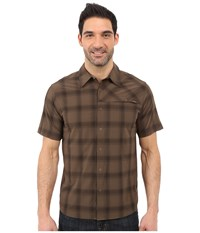 Outdoor Research Astroman S S Shirt Earth Men's Short Sleeve Button Up Brown