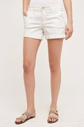 Pilcro Hyphen Chino Shorts White
