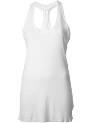 Department 5 Ribbed Vest Top White