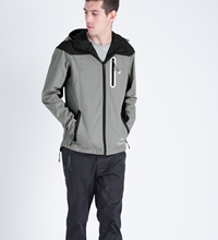 Grey Staple Tech Jacket