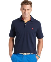 Izod Short Sleeve Solid Interlock Polo