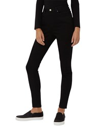 Jaeger High Rise Skinny Jeans Black