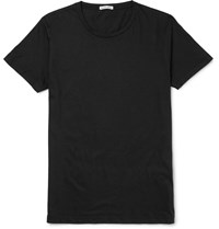 Tomas Maier Slim Fit Cotton Jersey T Shirt Black