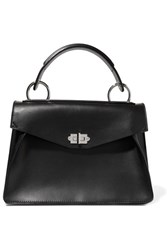 Proenza Schouler Hava Medium Leather Tote Black