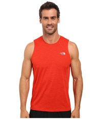 The North Face Ambition Tank Top Pompeian Red Heather Men's Sleeveless