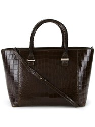 Victoria Beckham 'Quincy' Tote Brown