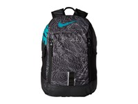 Nike Young Athletes Alpha Adpt Rise Print Backpack Black Black Rio Teal Backpack Bags