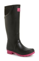 Joules Women's 'Neola' Rain Boot Black