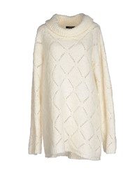 Alpha Massimo Rebecchi Knitwear Turtlenecks Women Beige