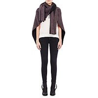 The Elder Statesman Women's Cashmere U Scarf Purple