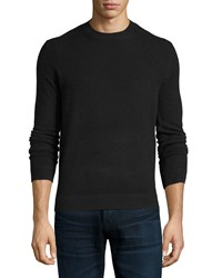 Theory Vetel 2 Cashmere Long Sleeve Sweater Black Women's