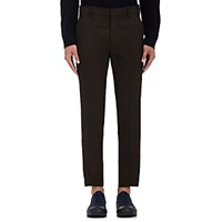 Marni Men's Wool Slim Trousers Brown