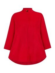 Dickins And Jones Cape Coat Red