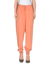 Patrizia Pepe Trousers Casual Trousers Women Salmon Pink