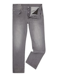 G Star Radar Loose Fit Stretch Accel Grey Med Aged Jeans Denim Mid Wash