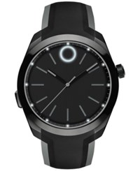 Movado Unisex Swiss Bold Motion Black Pvd Stainless Steel Bracelet Smartwatch 44Mm 3660002