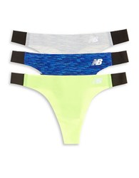 New Balance 3 Pack Bond Thong Set Concrete Blue
