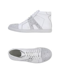 Alessandro Dell'acqua High Tops And Trainers White
