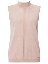 Numph Francine Sleeveless Jumper Pink