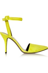 Alexander Wang Lovisa Suede Pumps Yellow