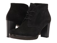 Gabor 55.750 Black Dreamvelour Women's Lace Up Boots