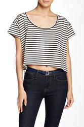 American Apparel Loose Crop Top Multi