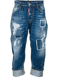 Dsquared2 'Big Brother' Jeans Blue
