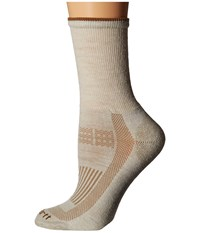 Carhartt Ultimate Merino Wool Work Socks 1 Pair Pack Khaki Women's Crew Cut Socks Shoes