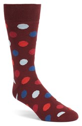 Bugatchi Men's 'Large Dot' Socks