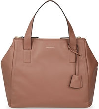 Karen Millen Leather Multi Functional Satchel Nude
