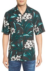 Tommy Bahama Men's 'Lily Soleil' Original Fit Print Silk Camp Shirt