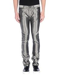 Karl Lagerfeld Denim Pants Silver