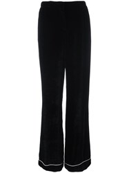 Alberta Ferretti Wide Leg Trousers Black
