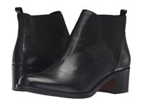 Dune Parnell Black Leather Women's Pull On Boots