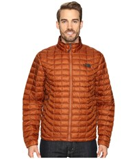 The North Face Thermoball Full Zip Jacket Gingerbread Brown Men's Coat