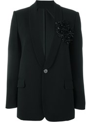 Dsquared2 Sequin Flower Blazer Black