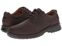 Ecco Fusion Casual Tie Coffee Men's Lace Up Casual Shoes Brown