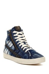 Diesel D Velows D String Plus Faux Fur Lined Mid Sneaker Multi