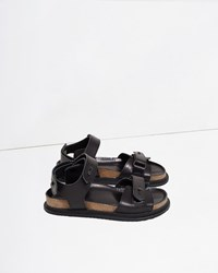 Y's Belt Sandal Black