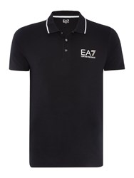 Emporio Armani Short Sleeve Train Core Id Polo Black